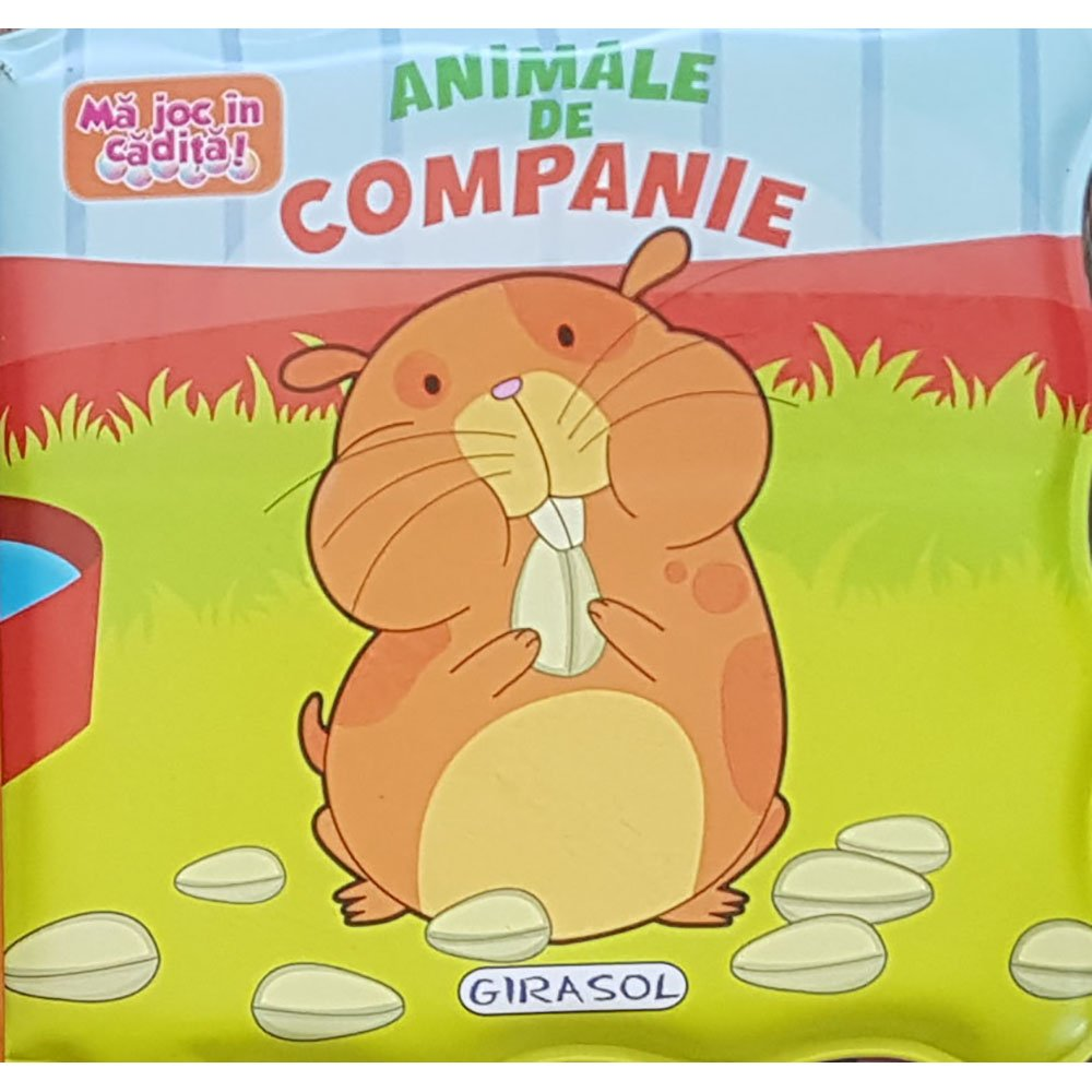 Carte Editura Girasol, Ma joc in cadita! Animale de companie