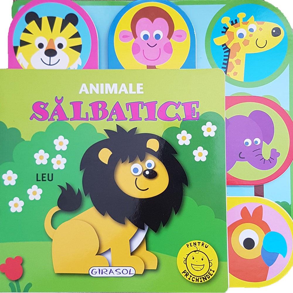 Carte Editura Girasol, Pentru prichindei, Animale salbatice imagine
