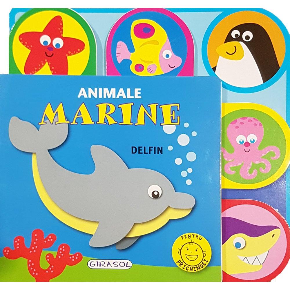 Carte Editura Girasol, Pentru prichindei, Animale marine