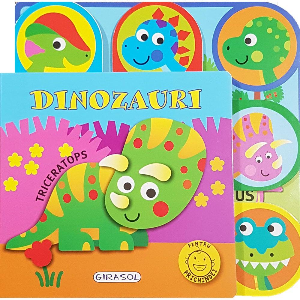 Carte Editura Girasol, Pentru prichindei, Dinozauri
