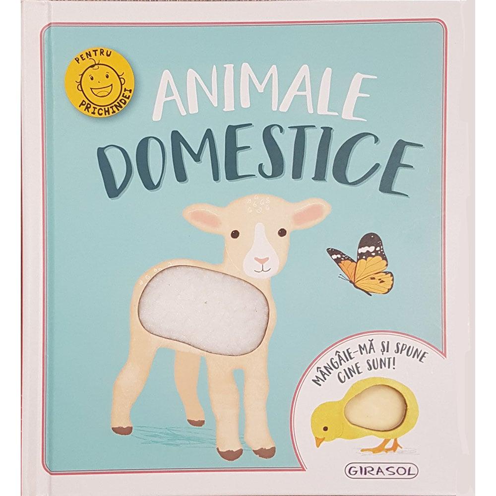 Carte Editura Girasol, Mangaie-ma si spune cine sunt! Animale domestice imagine