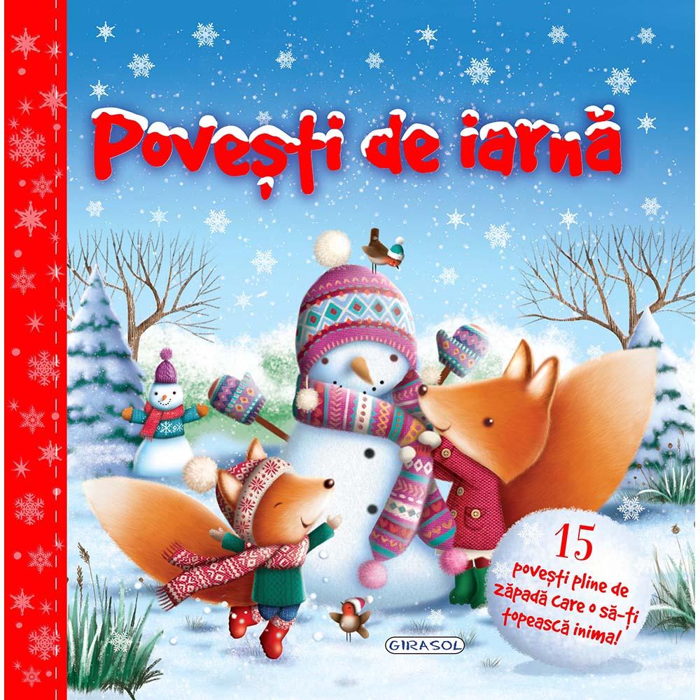 Carte Editura Girasol, Povesti de iarna, Editia II