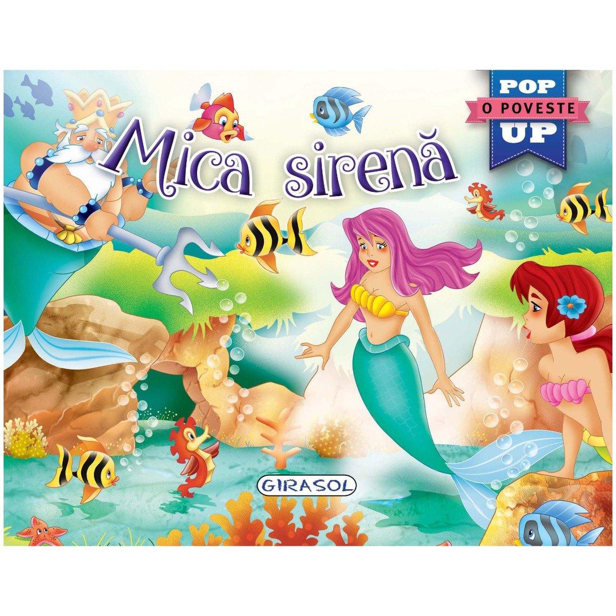 Carte Pop-Up Girasol, Mica Sirena imagine