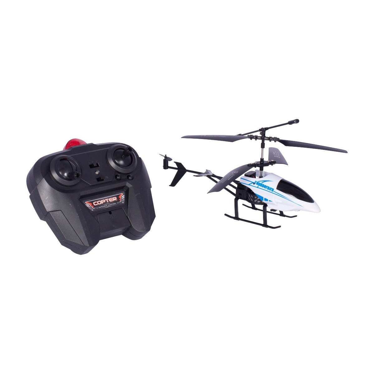 Elicopter cu telecomanda Cool Machines Thunderbird Noriel, Alb