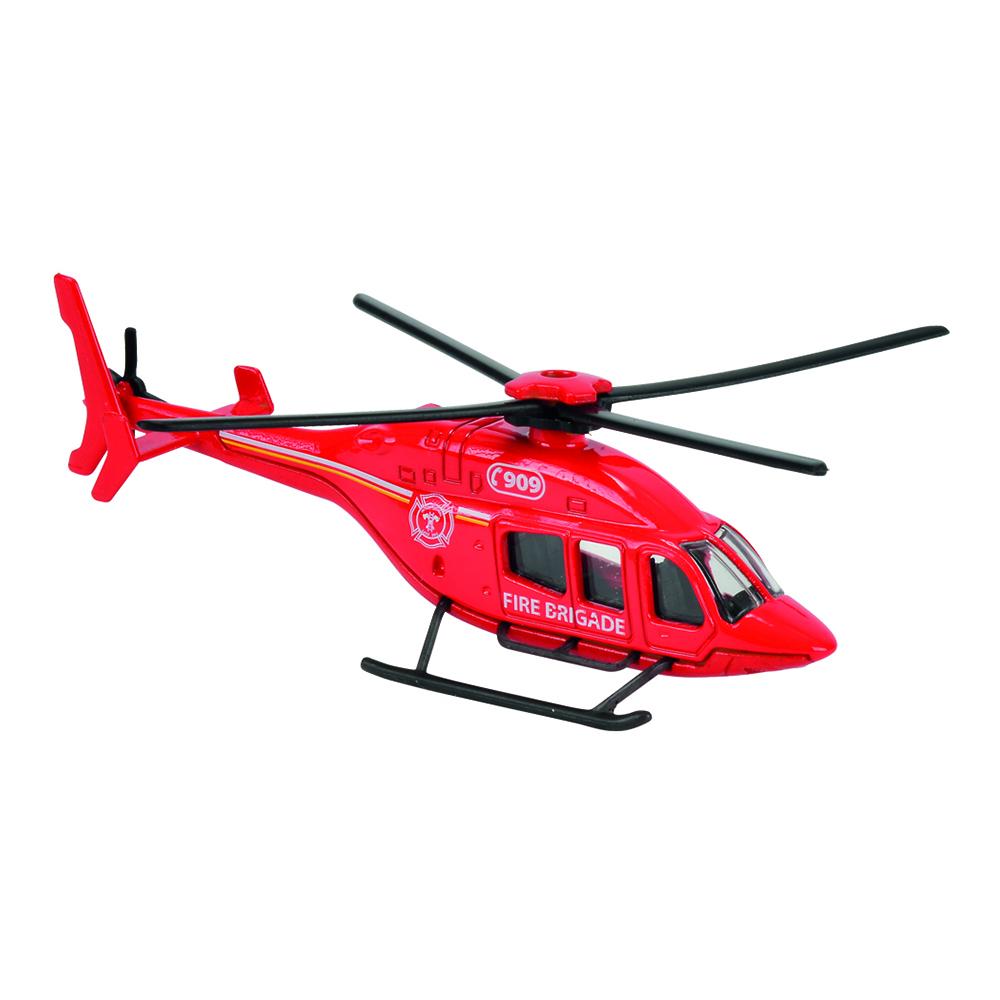 Elicopter Fire Brigade Majorette 13 cm