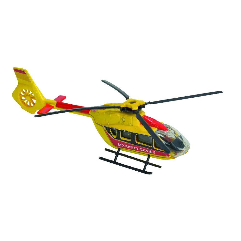 Elicopter Security Cevile Majorette 13 cm