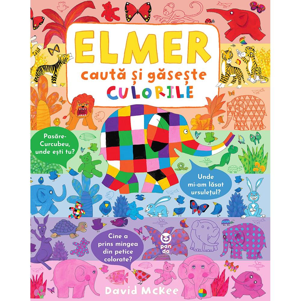 Elmer cauta si gaseste culorile, David Mckee