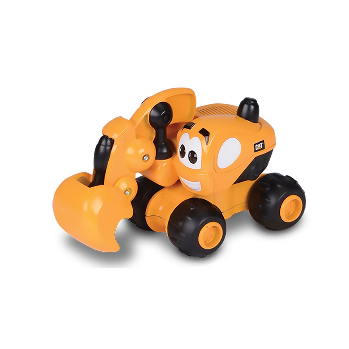 excavator toy state cat buildin' crew wigglers - diggin' dave