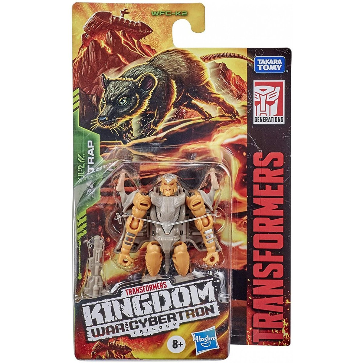 Figurina Transformers Kingdom WFC, Rattrap F0664