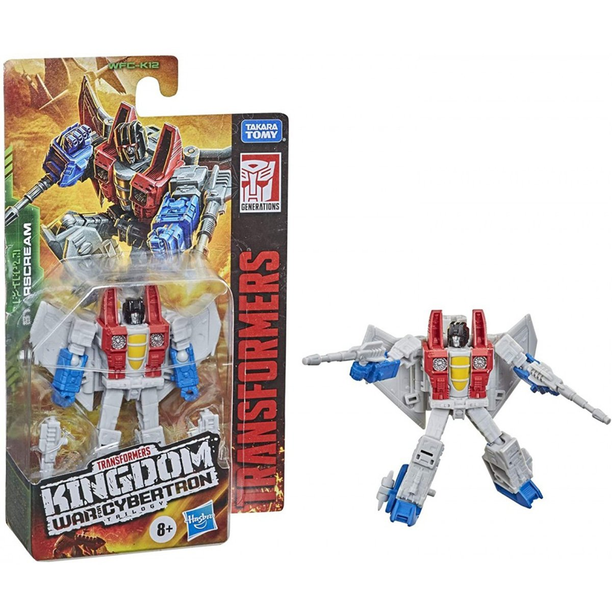 Figurina Transformers Kingdom WFC, Starscream F0665