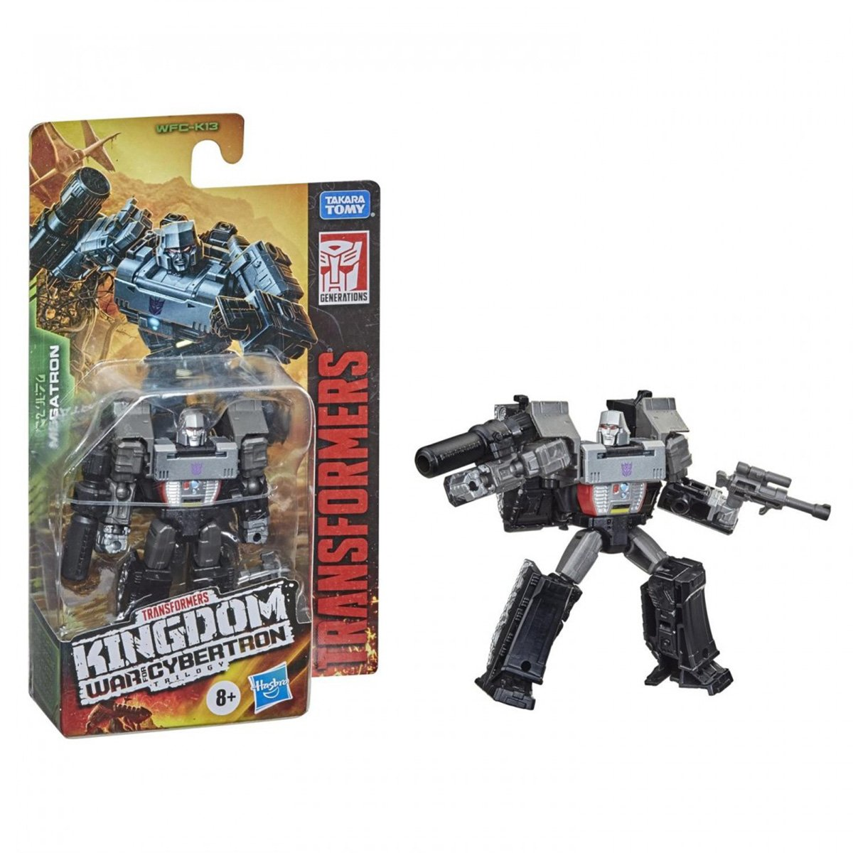 Figurina Transformers Kingdom WFC, Megatron F0666