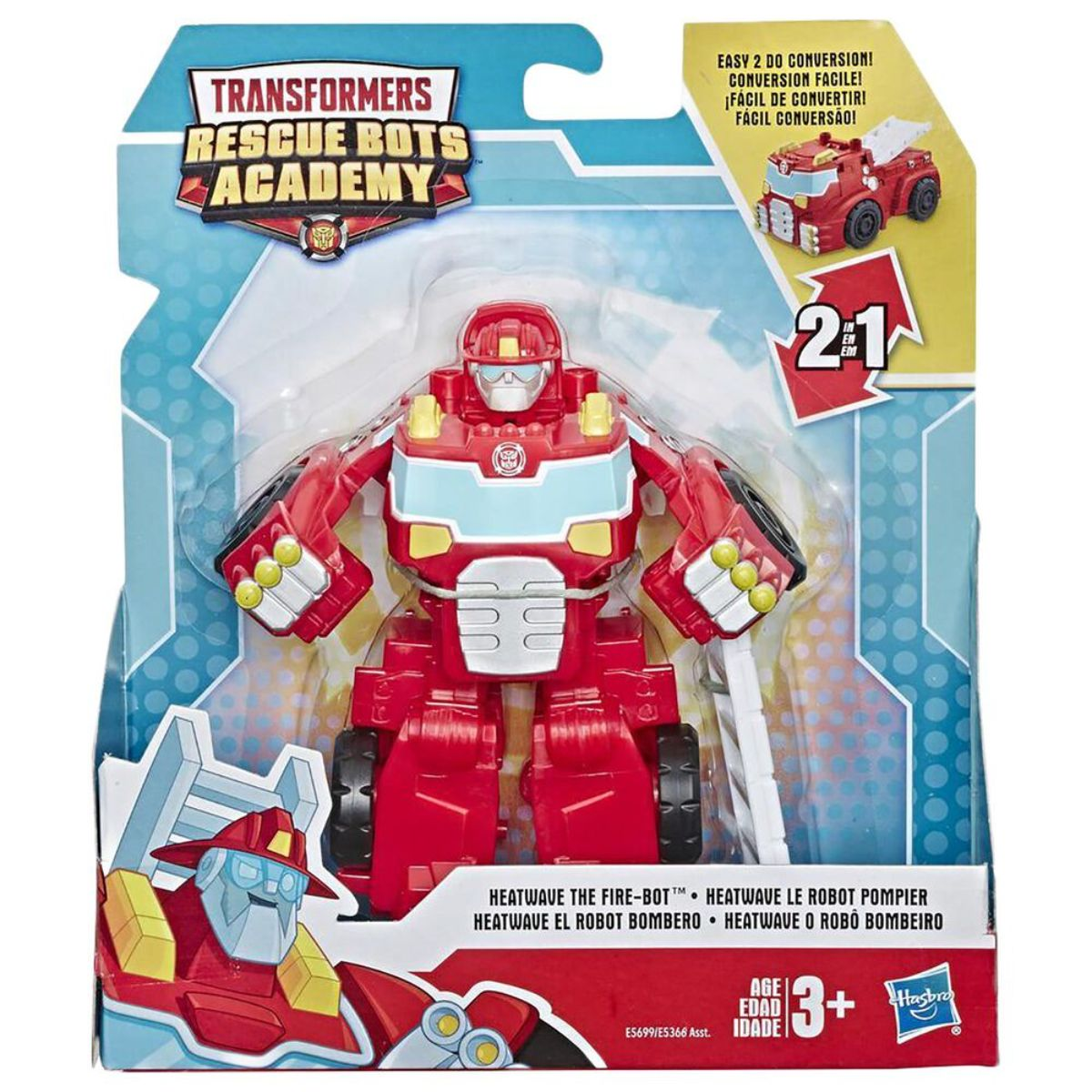 Figurina Transformers, Rescue Bots Academy, Heatwave the Fire-Bot, F08885
