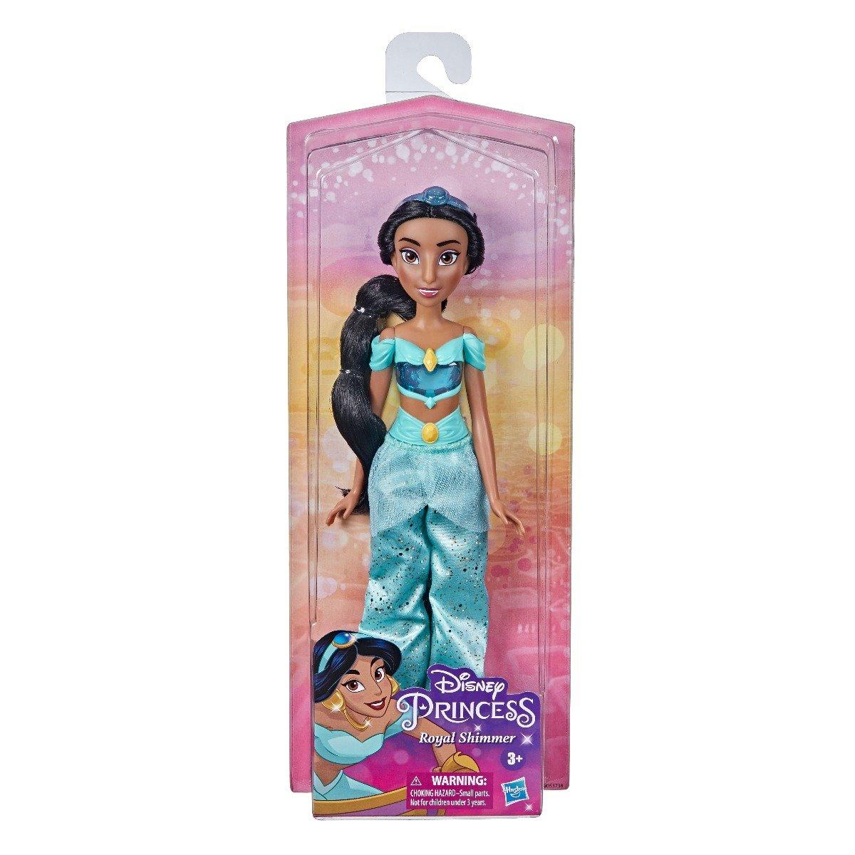 Papusa Jasmine Disney Princess Royal Shimmer