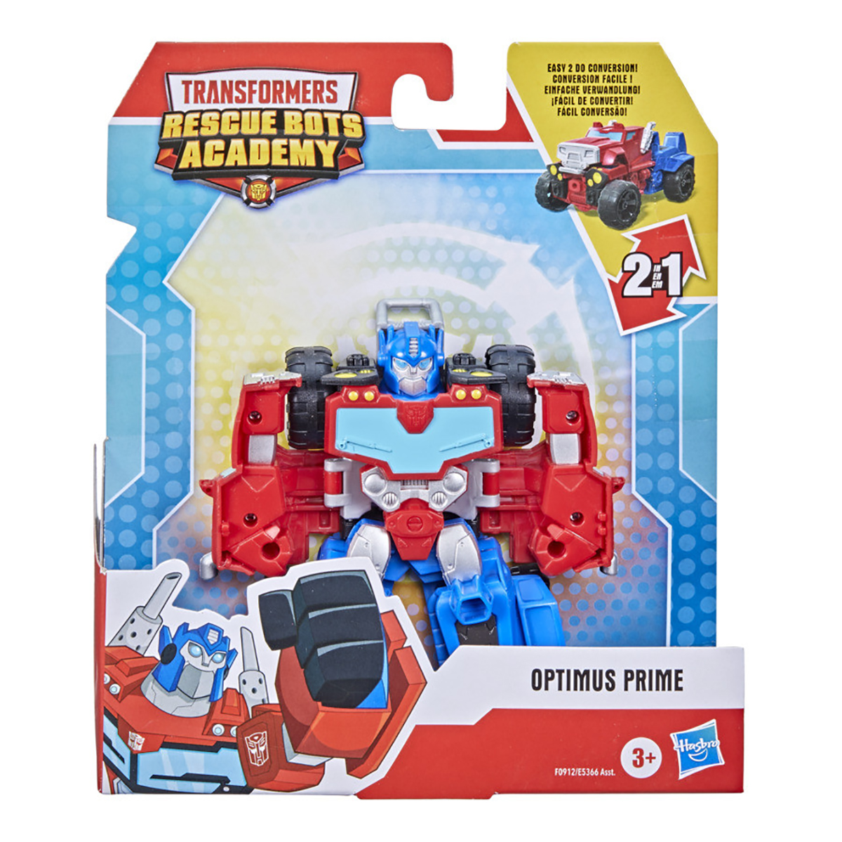Figurina Transformers Rescue Bots Academy, Optimus Prime, F0912