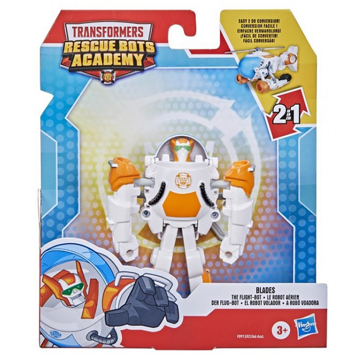 Figurina Transformers Rescue Bots Academy, Blades, The Flight-Bot, F0913