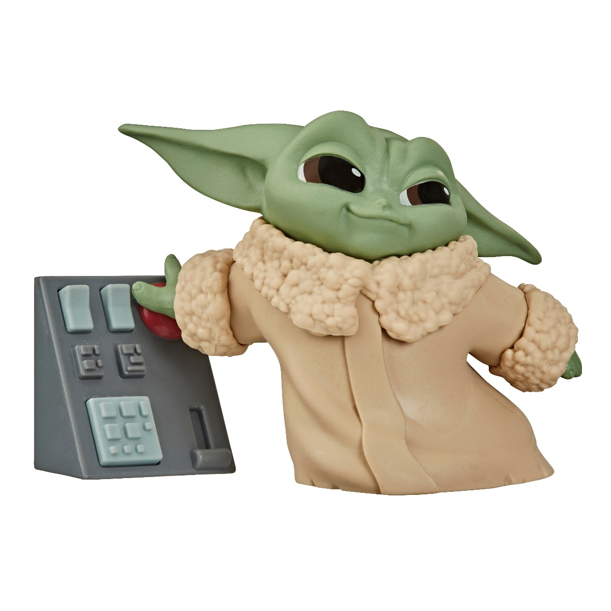 Figurina Star Wars Baby Yoda, Button, F14785L00, 6 cm