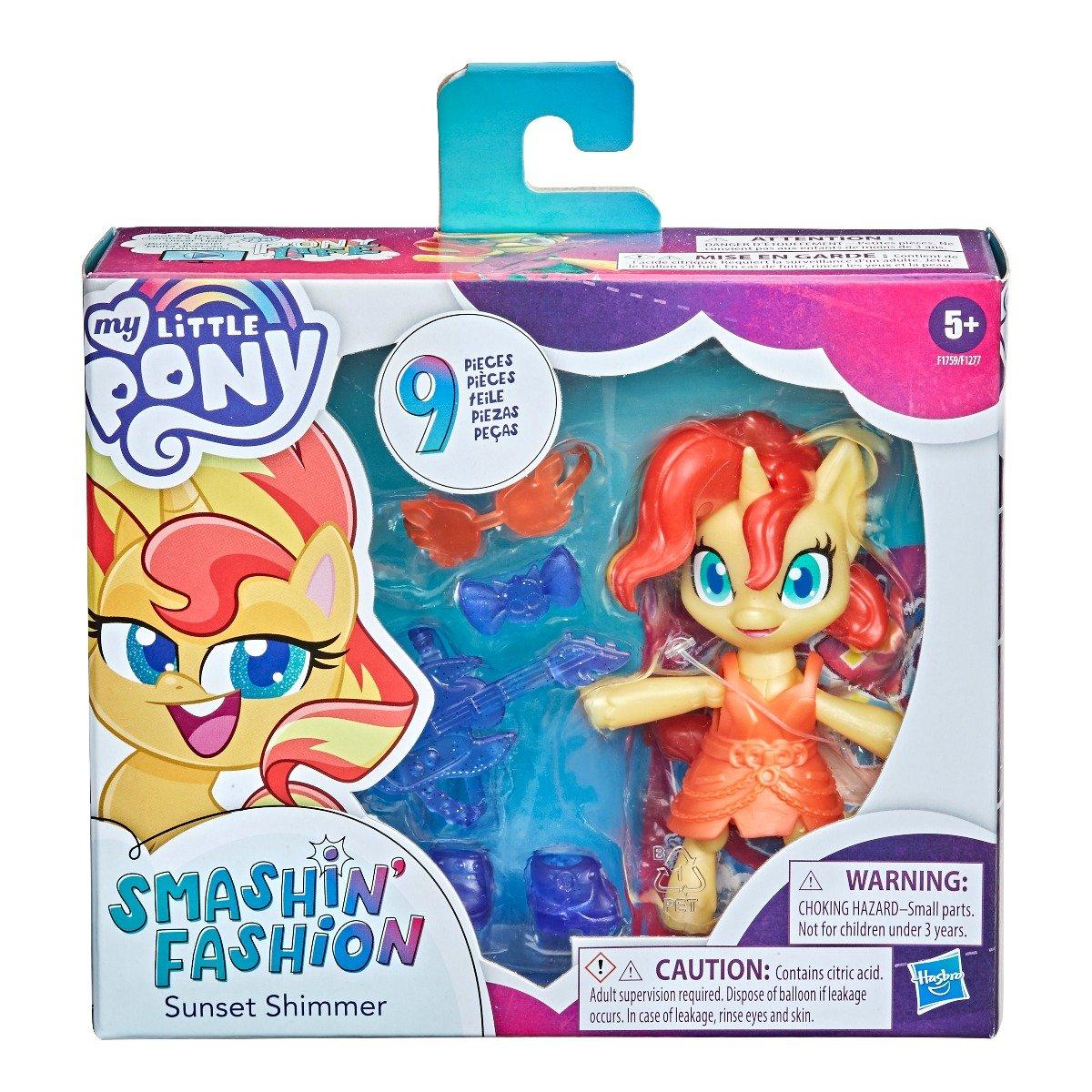 Figurina My Little Pony Smashin Fashion, Sunset Shimmer F1759