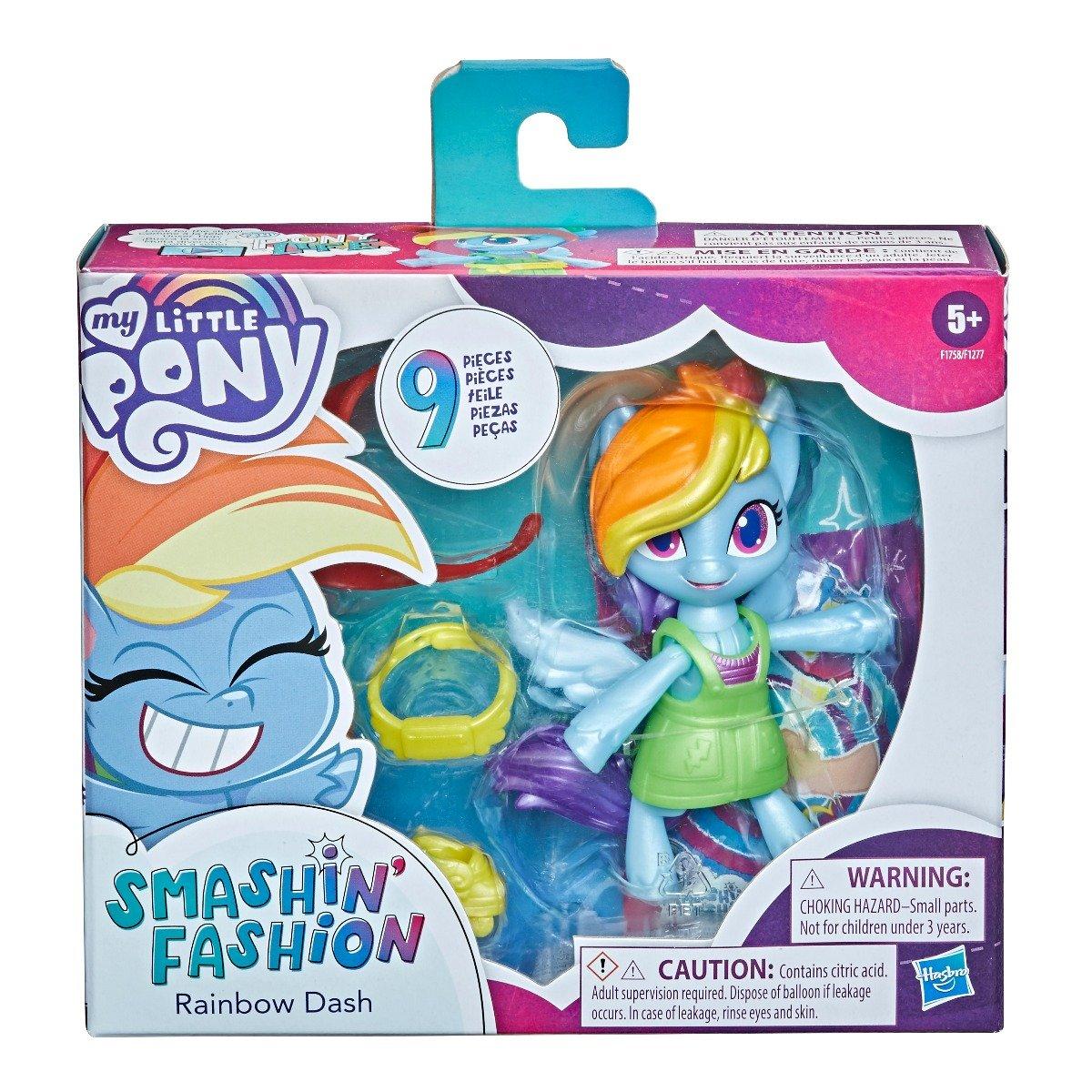 Figurina My Little Pony Smashin Fashion, Rainbow Dash F1758