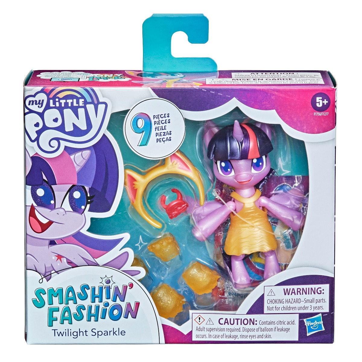 Figurina My Little Pony Smashin Fashion, Twilight Sparkle F1756