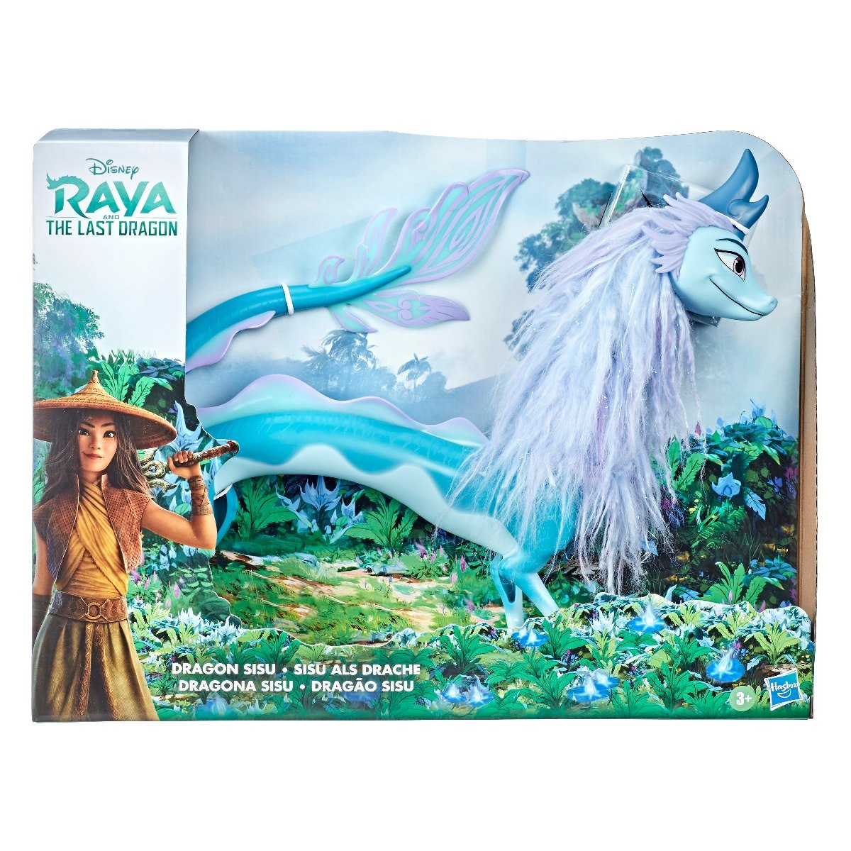 Figurina Disney Raya and the Last Dragon - Dragonul Sisu, 66 cm