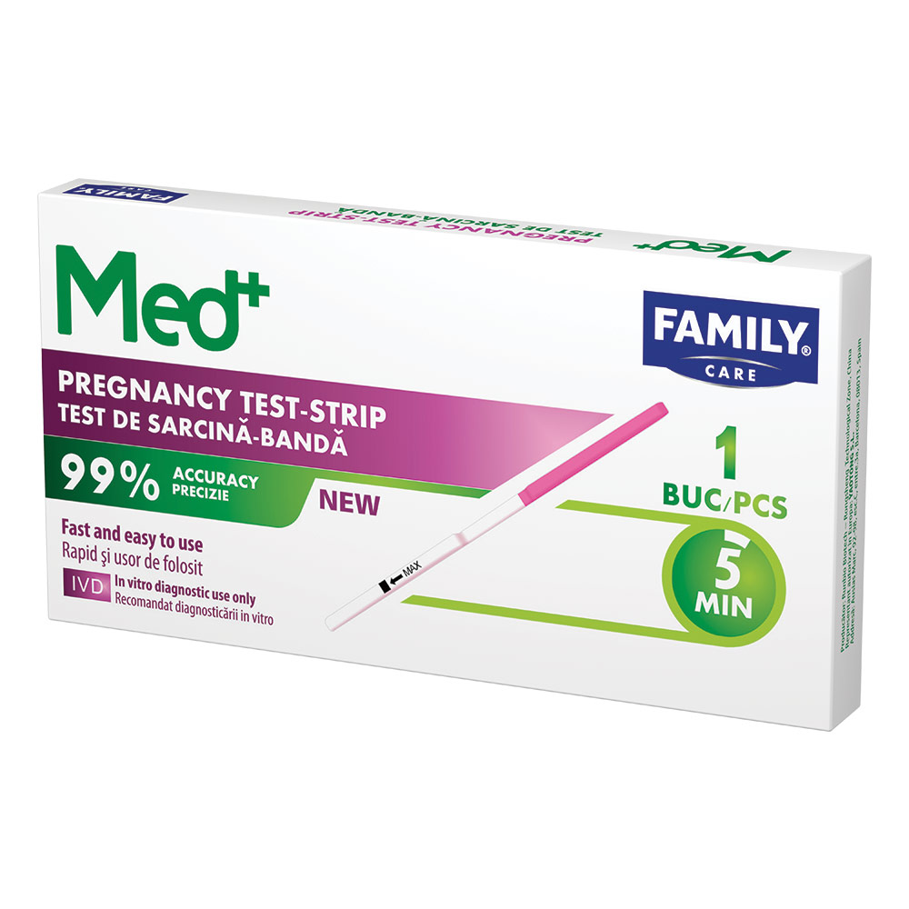 Test sarcina banda Family Med, 1 buc
