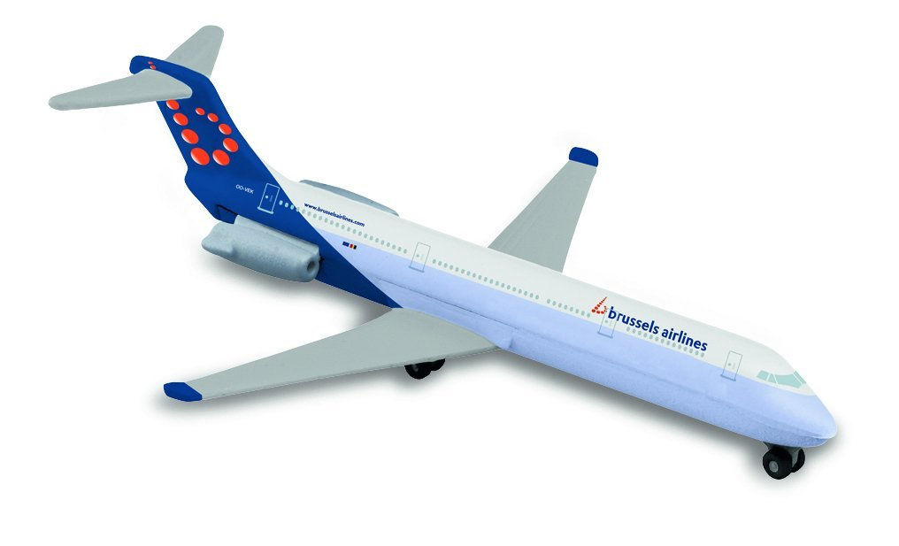 Avion Majorette, Brussels Airlines, 13 cm