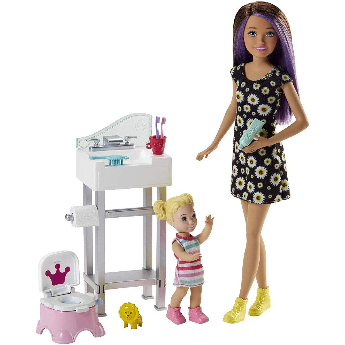 Set de joaca Barbie Skipper Babysitter INC, FJB01