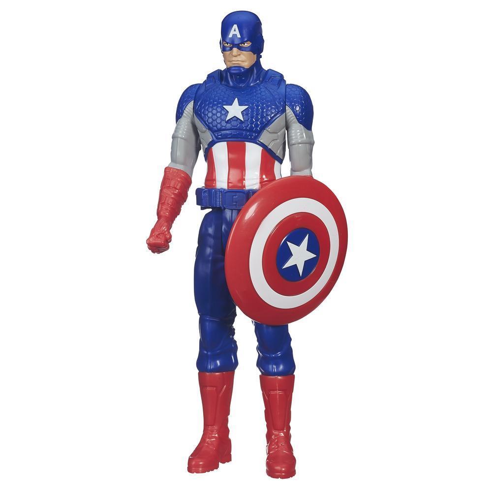 figurina avengers titan hero - captain america, 30 cm