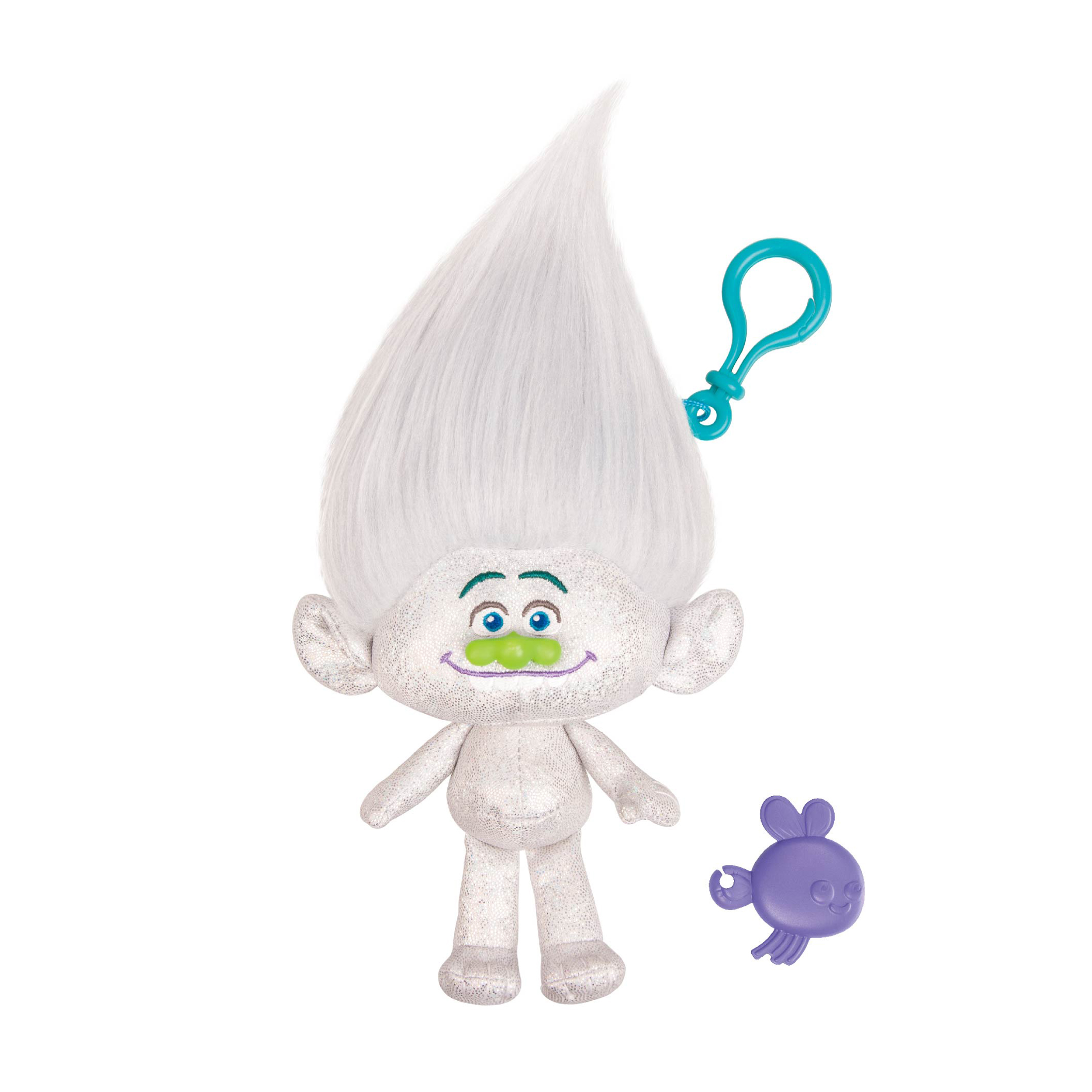 figurina breloc trolls - guy diamond, 22 cm