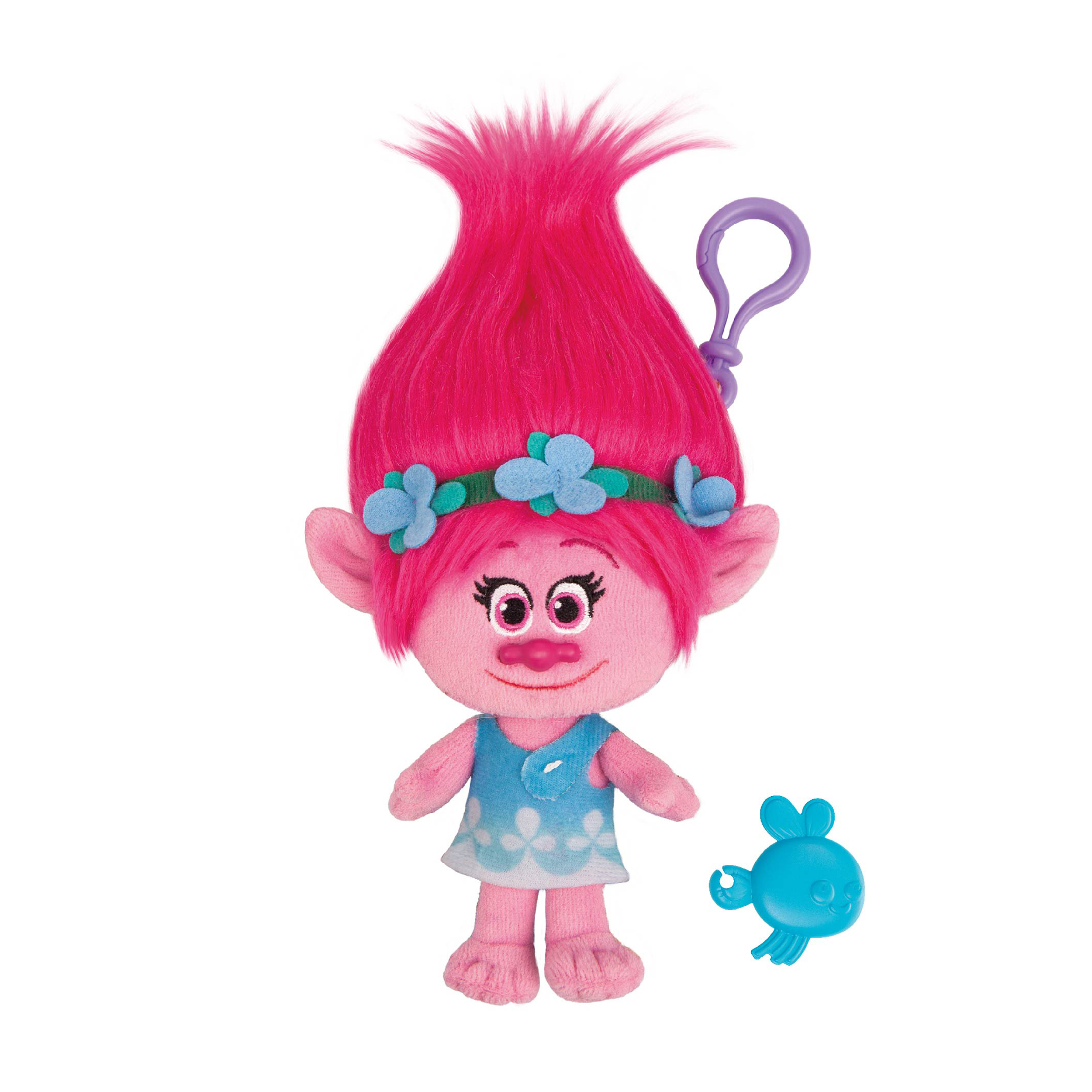 Figurina breloc Trolls - Poppy, 22 cm