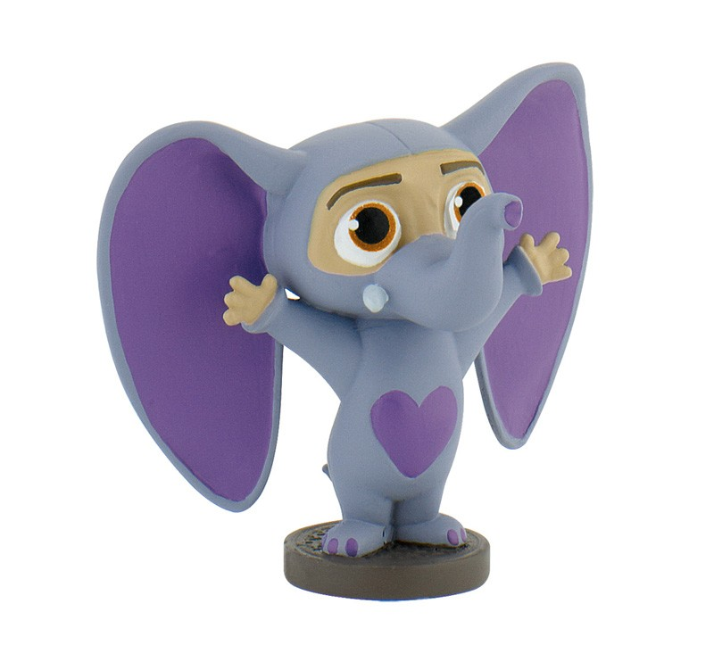 figurina bullyland disney zootropolis - finnickphant