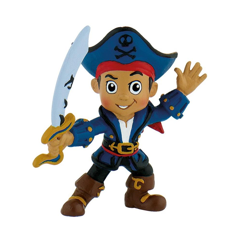 figurina bullyland jake si piratii - capitanul jake