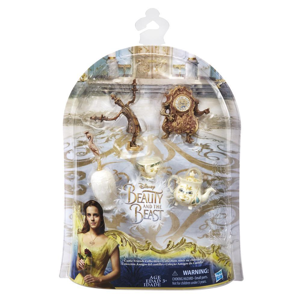 figurina disney beauty and the beast - prietenii de la castel