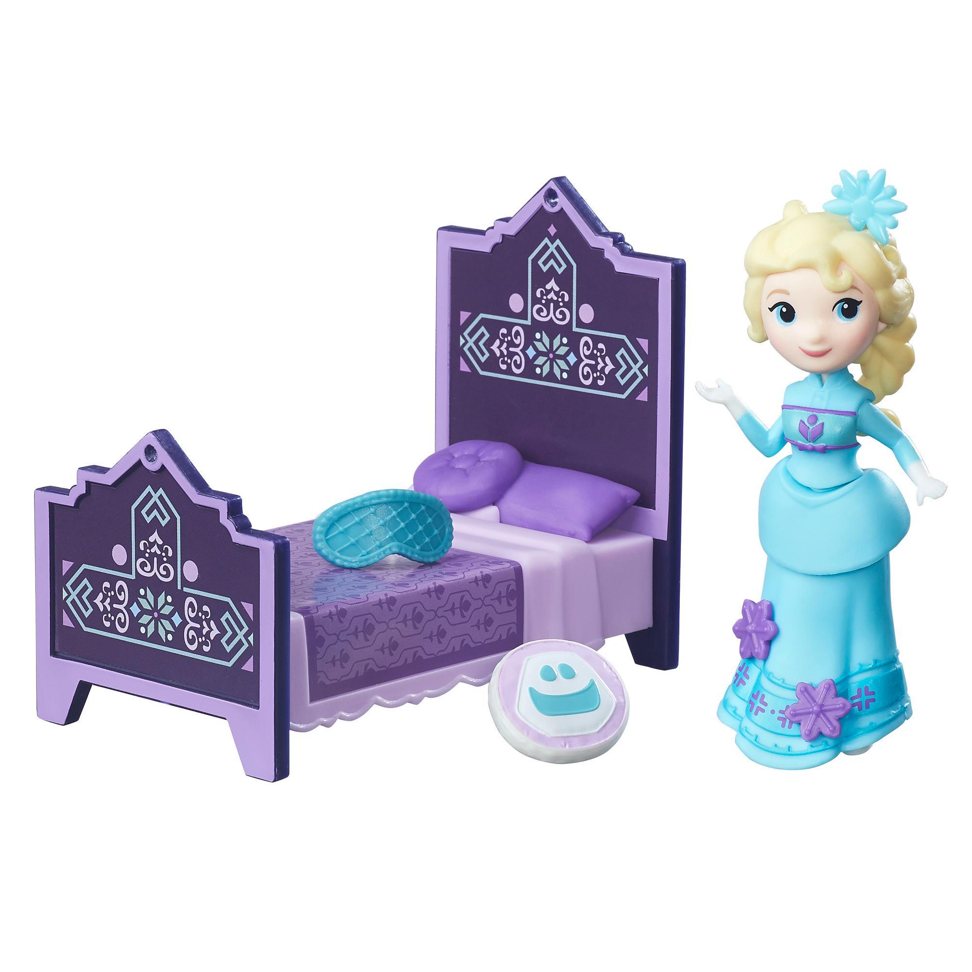figurina disney frozen micul regat - dormitorul elsei