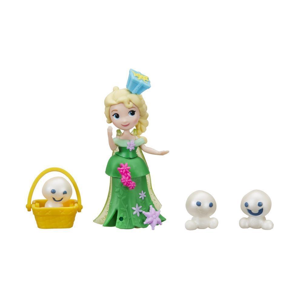 figurina disney frozen micul regat - elsa si omuletii de zapada