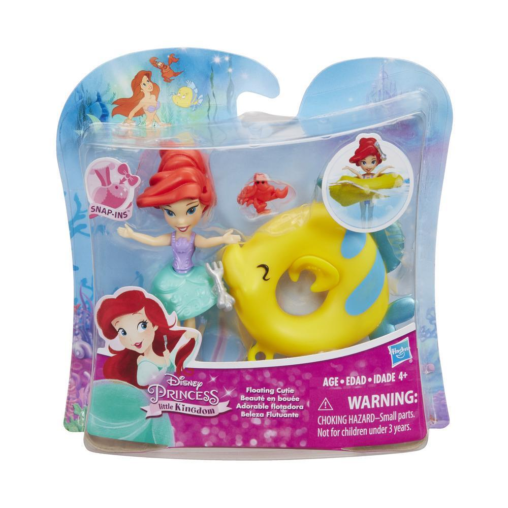 figurina disney princess- ariel pluteste pe apa