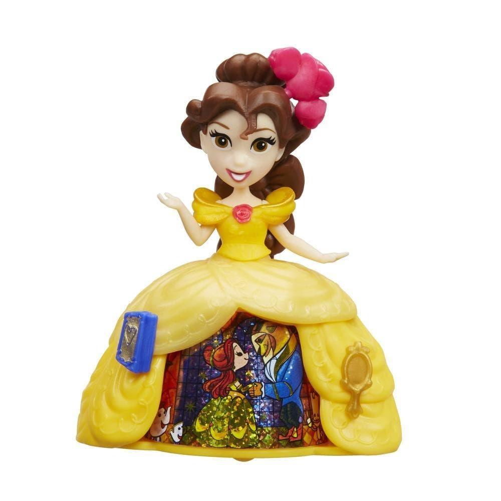 Figurina Disney Princess cu rochie magica - Belle
