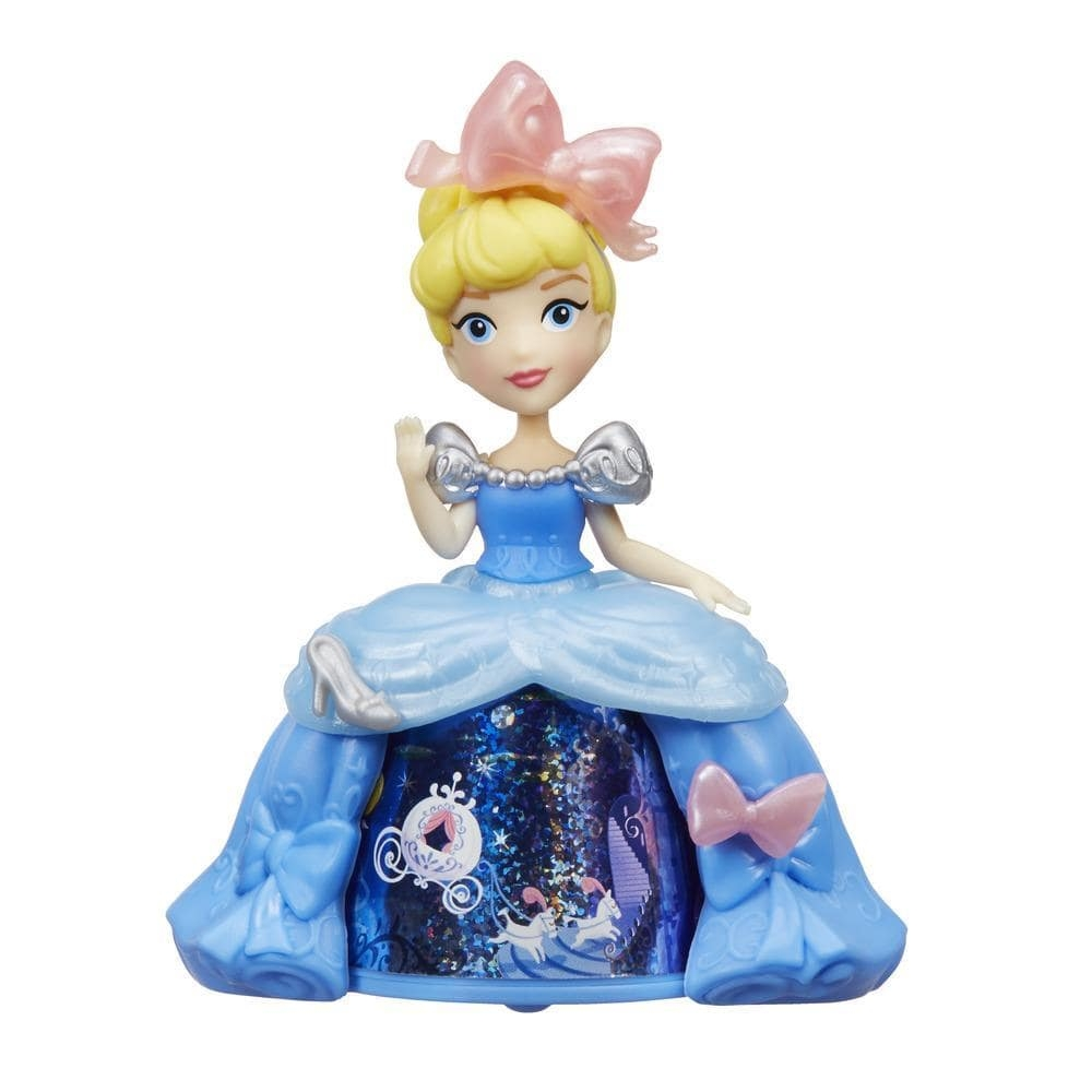 figurina disney princess cu rochie magica - cenusareasa