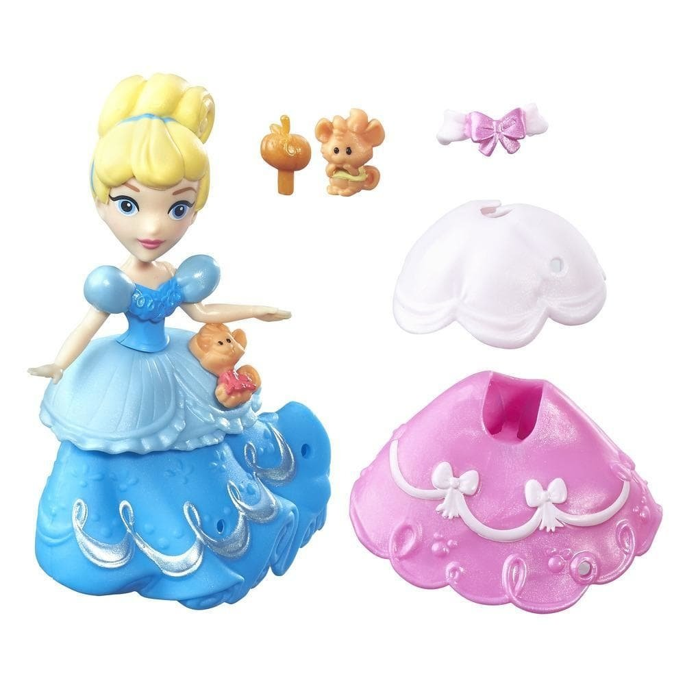 figurina disney princess little kingdom - cenusareasa, 8 cm
