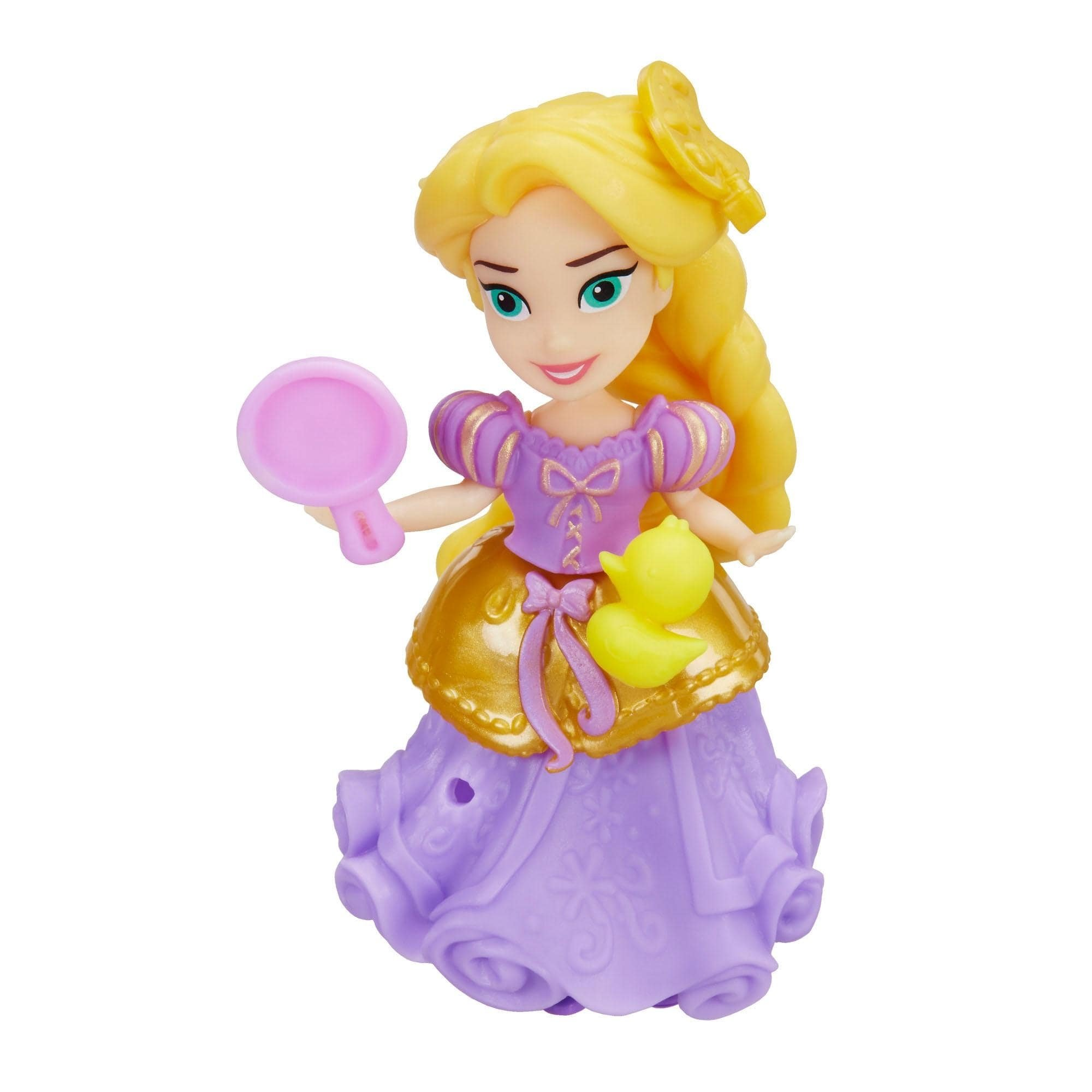 figurina disney princess little kingdom - rapunzel