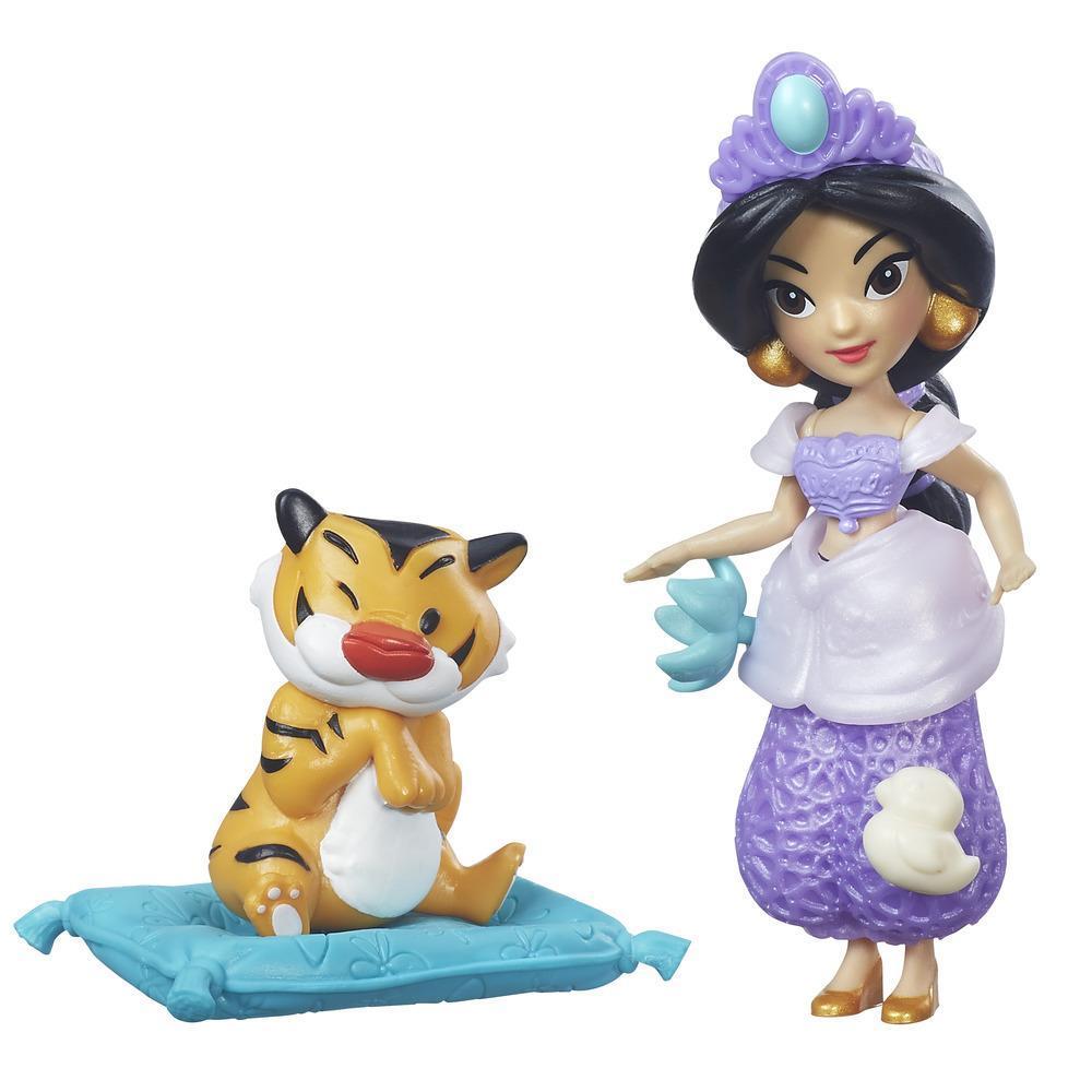 Figurina Disney Princess Micul regat - Jasmine, petrecerea in pijama, 7. 5 cm