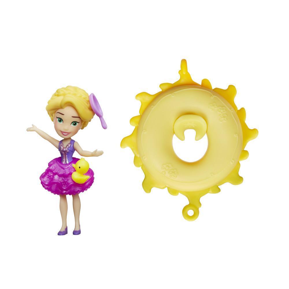 figurina disney princess - rapunzel pluteste pe apa