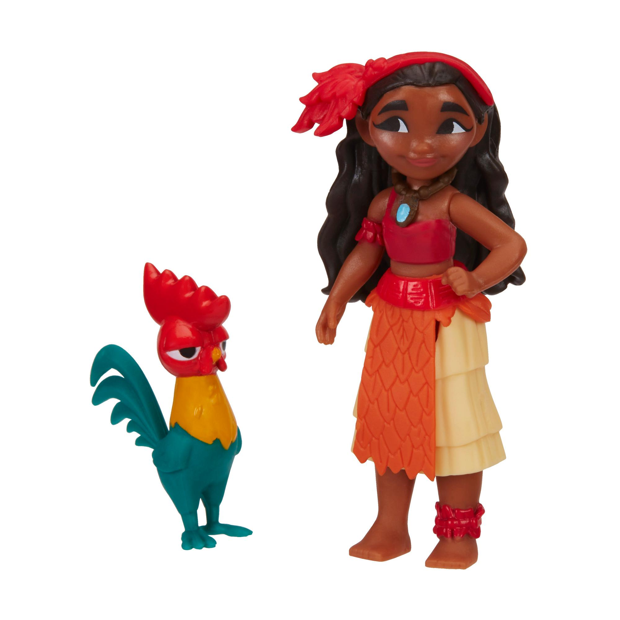 figurina disney princess - vaiana si hei-hei