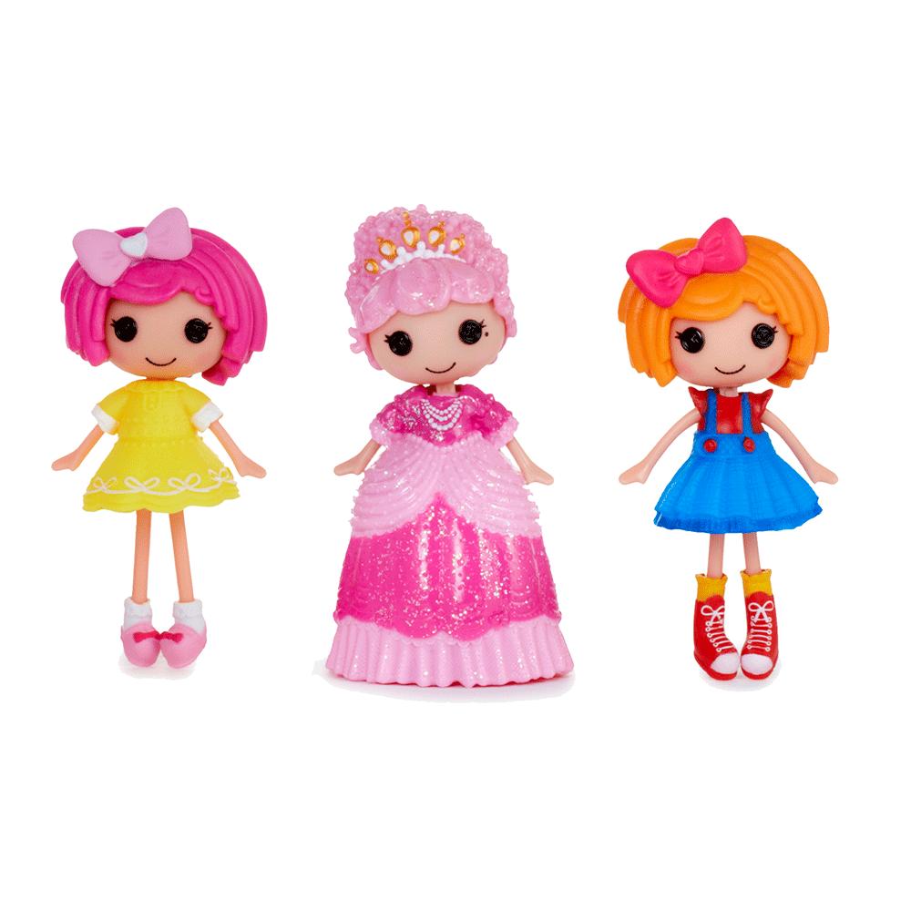 Figurina Lalaloopsy Minis in cutie de vopsea, diverse personaje imagine