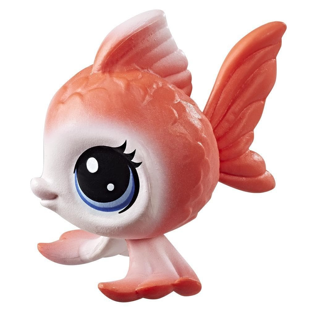 figurina littlest pet shop seria 1 - rei angelfisher