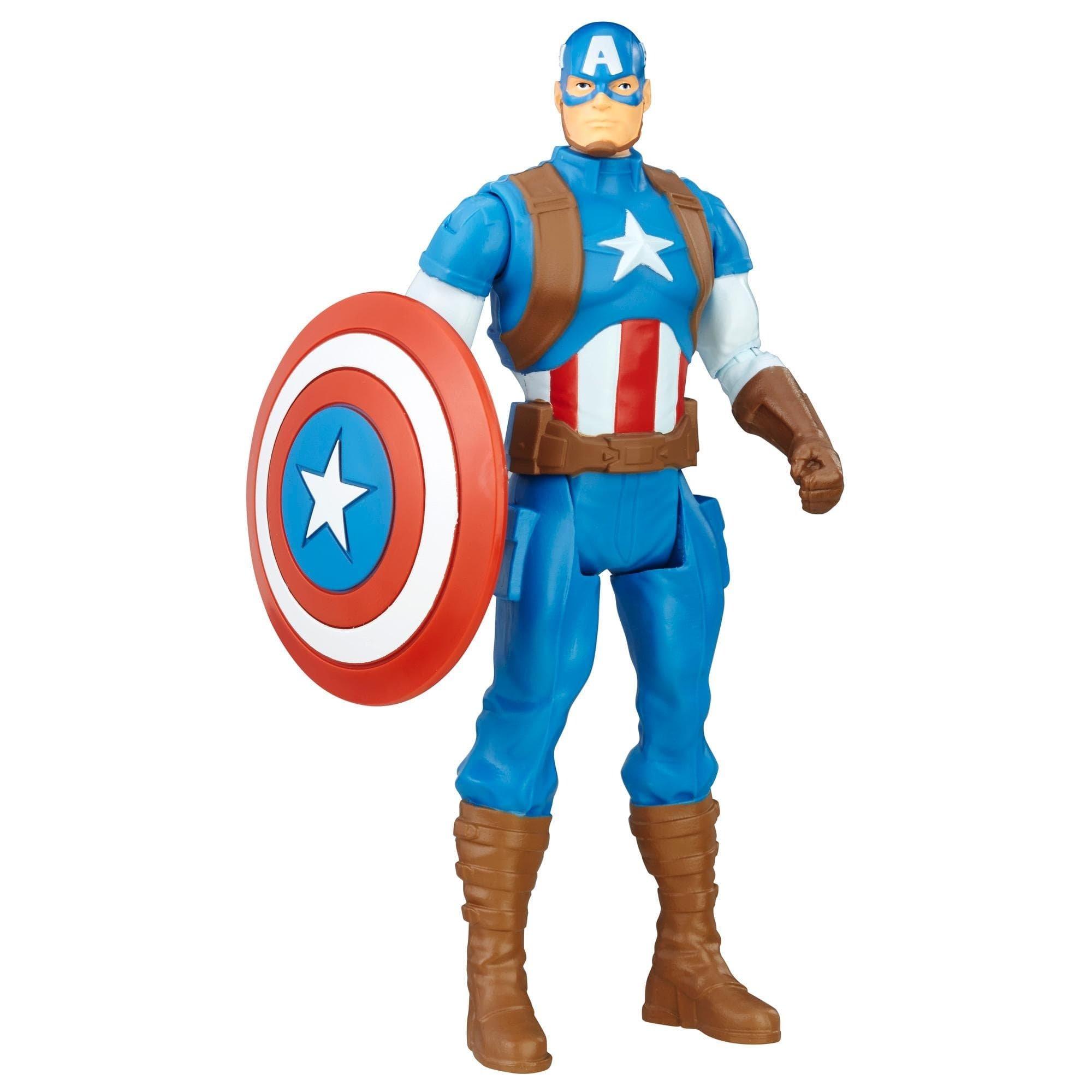 figurina marvel avengers - captain america, 15 cm