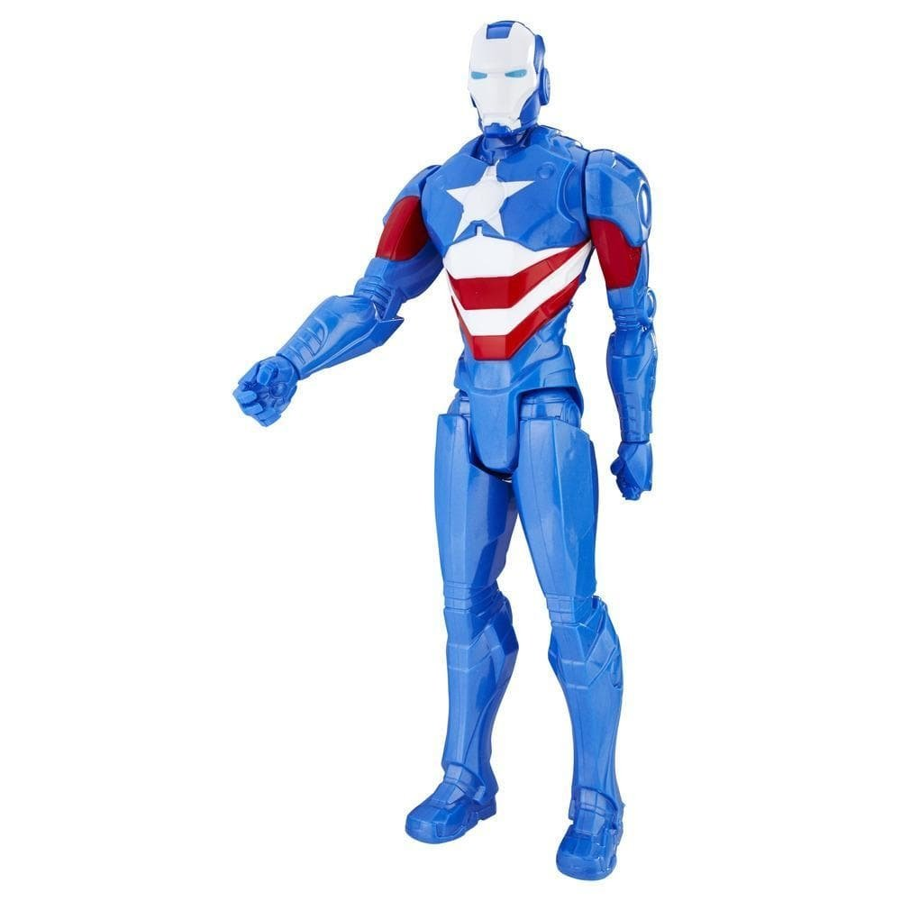 figurina marvel avengers titan hero - iron patriot, 30 cm