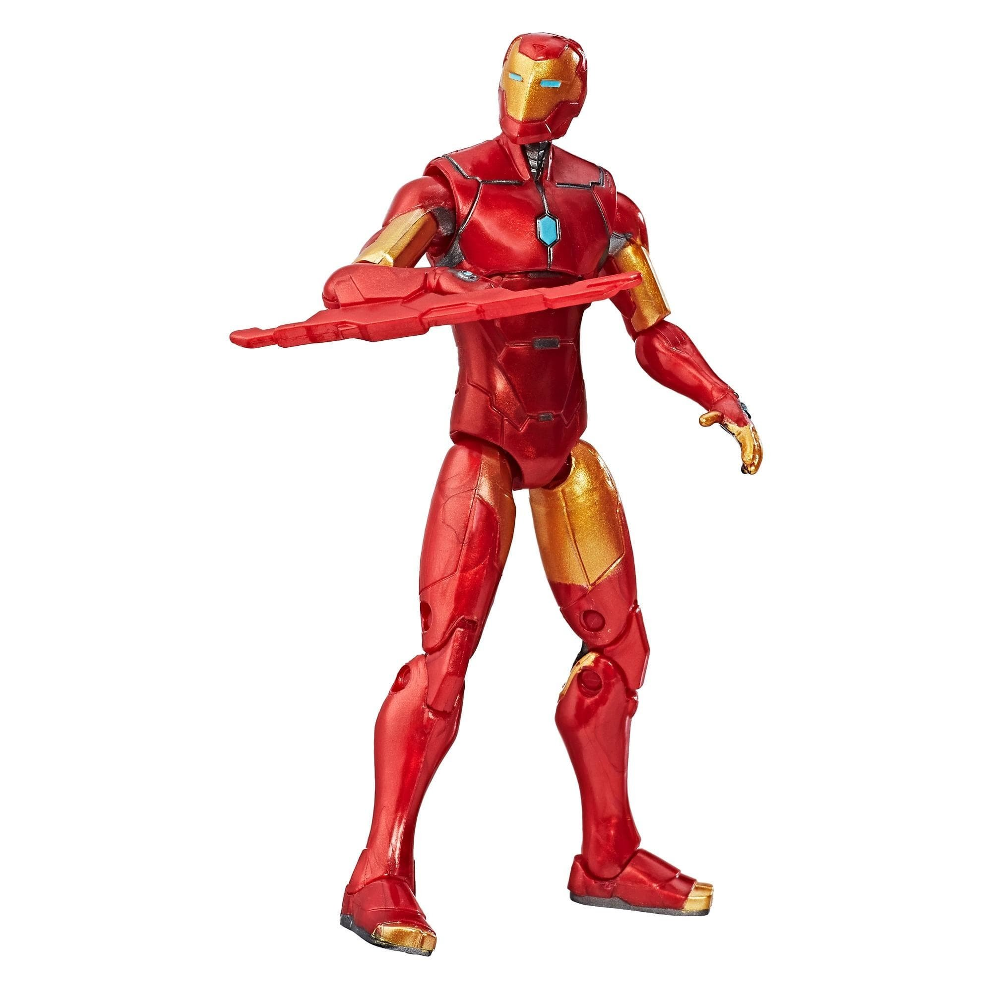 figurina marvel legends series - invincible iron man, 10 cm