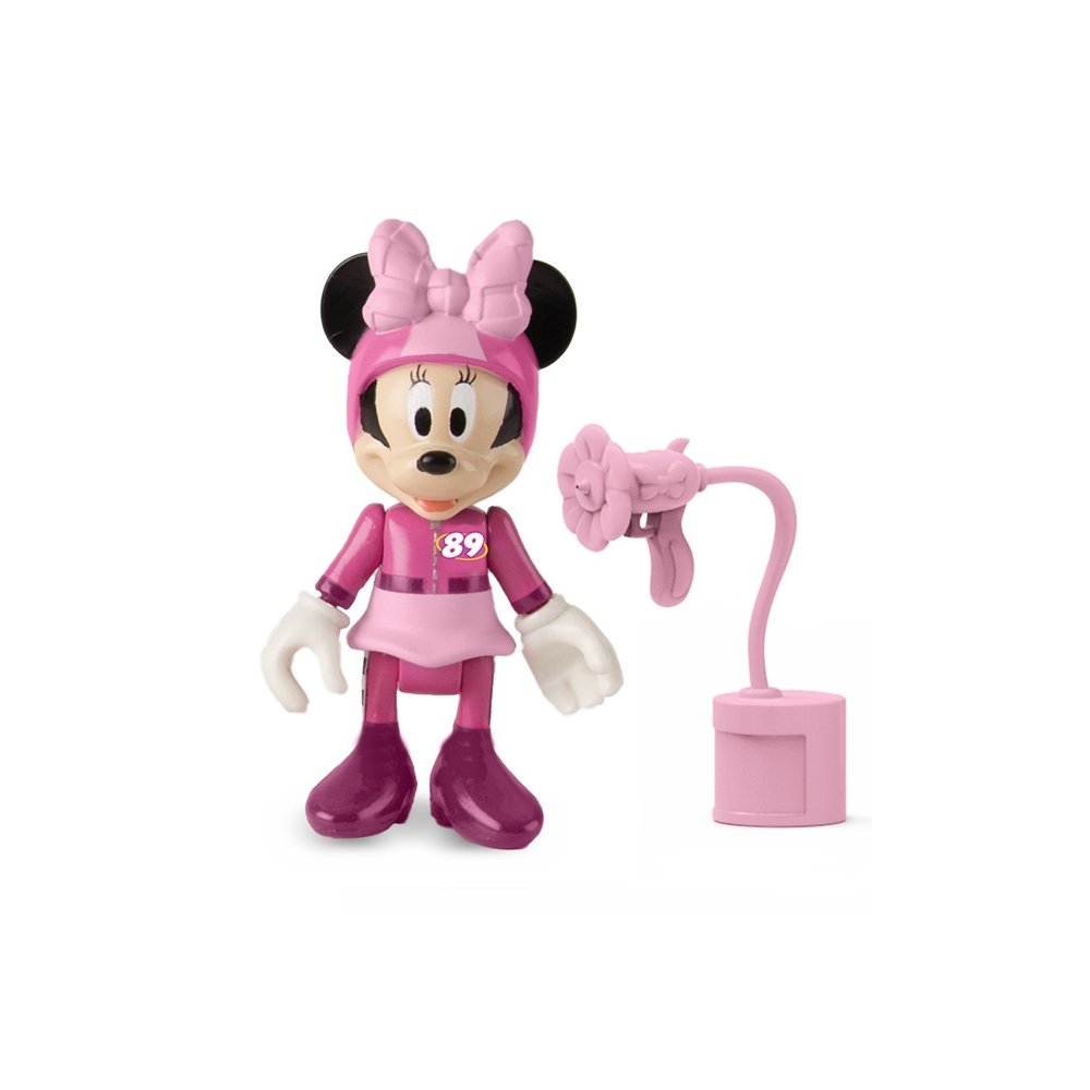 figurina mickey si pilotii de curse - minnie mouse