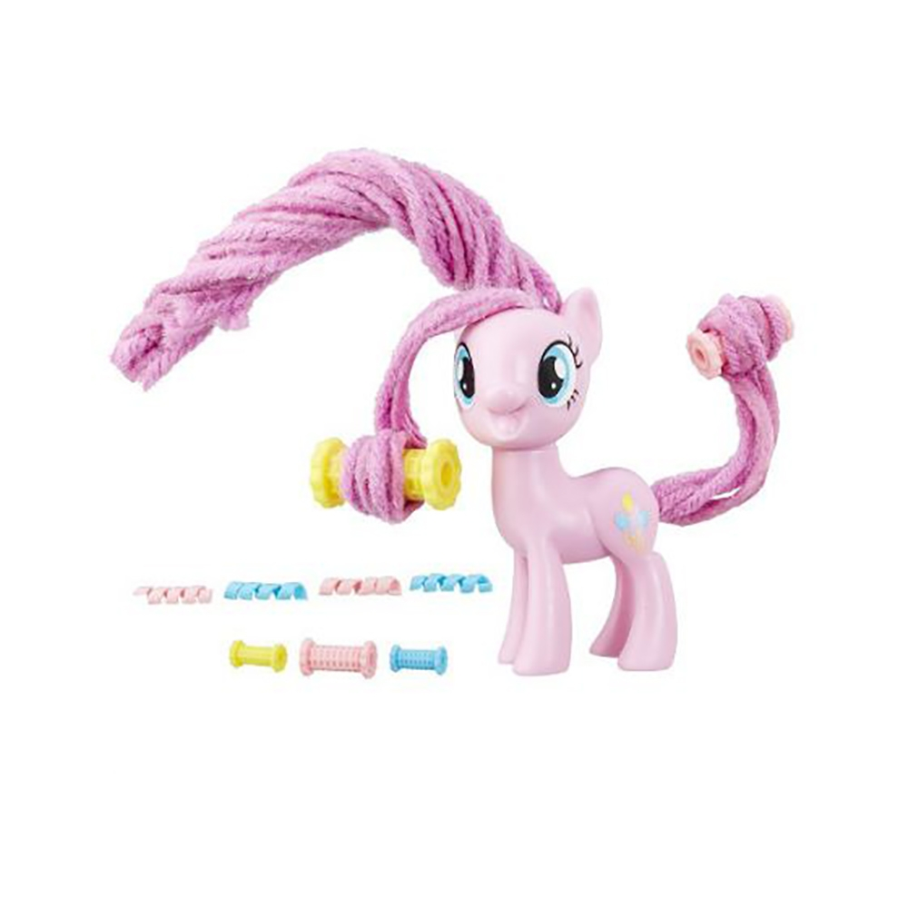 figurina my little pony coafuri de gala - pinkie pie